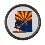ILY Arizona Large Wall Clock