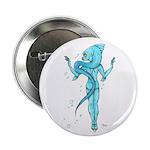 """Aqua 2.25"""" Button"""