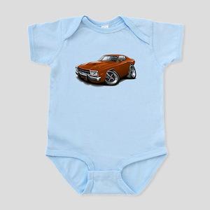 Roadrunner Bronze Car Infant Bodysuit