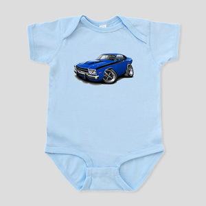 Roadrunner Blue-Black Car Infant Bodysuit