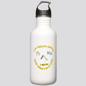 Agility Happy Stainless Water Bottle 1.0L
