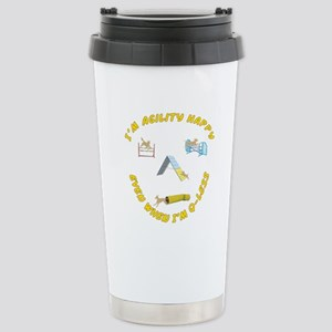 Agility Happy Stainless Steel Travel Mug
