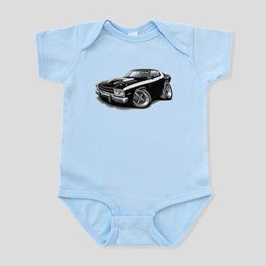 Roadrunner Black-White Car Infant Bodysuit