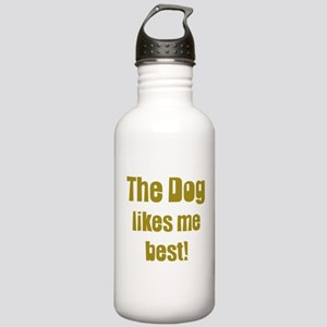 The Dog Likes Me Best' Stainless Water Bottle 1.0L