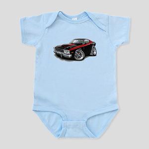 Roadrunner Black-Red Car Infant Bodysuit
