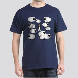 Aussie and Sheepies Dark T-Shirt