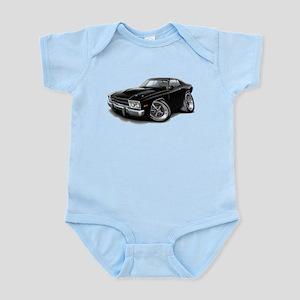 Roadrunner Black Car Infant Bodysuit
