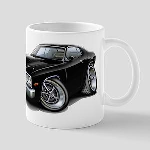 Roadrunner Black Car Mug