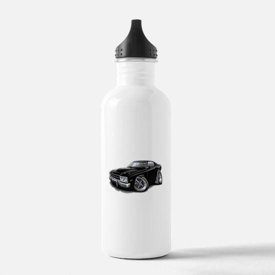 Roadrunner Black Car Water Bottle
