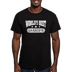World's Best Grandpa Men's Fitted T-Shirt (dark)
