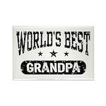 World's Best Grandpa Rectangle Magnet