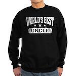 World's Best Uncle Sweatshirt (dark)