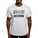 World's Best Uncle Light T-Shirt