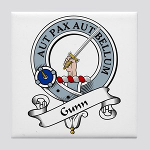 Gunn Clan Badge Tile Coaster