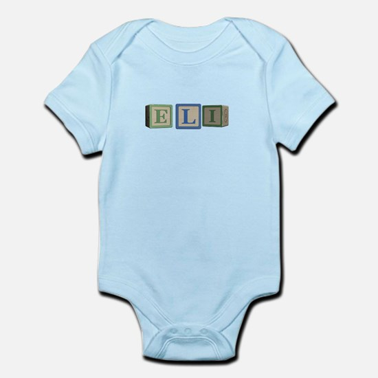 Eli Alphabet Block Infant Bodysuit