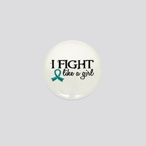 Licensed Fight Like A Girl 18.7 Ovaria Mini Button