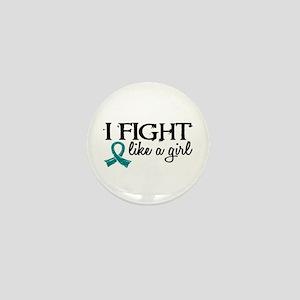 Licensed Fight Like A Girl 18.7 Ovaria Mini Button