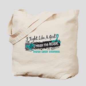 Licensed Fight Like A Girl 19.1 Ovarian C Tote Bag