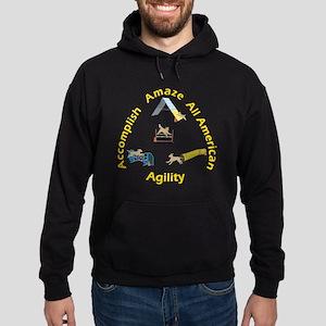 Agility Mutts Hoodie (dark)