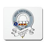 Grierson Clan Badge Mousepad