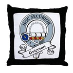 Grierson Clan Badge Throw Pillow