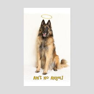 No Angel Rectangle Sticker