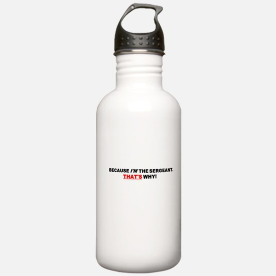 Sergeant Water Bottle