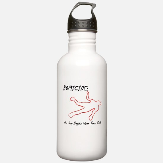 Homicide (Squad) Water Bottle