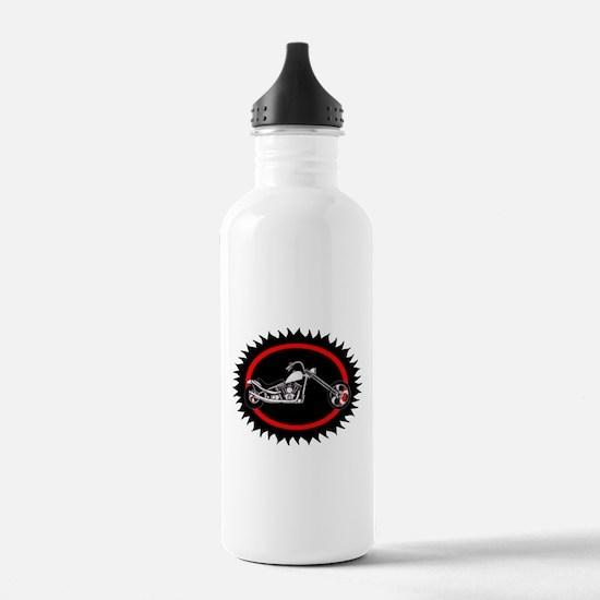 chopper bike Water Bottle