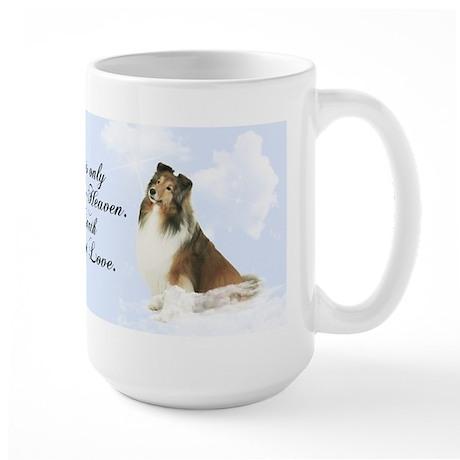 Heavenly Sheltie Large Mug