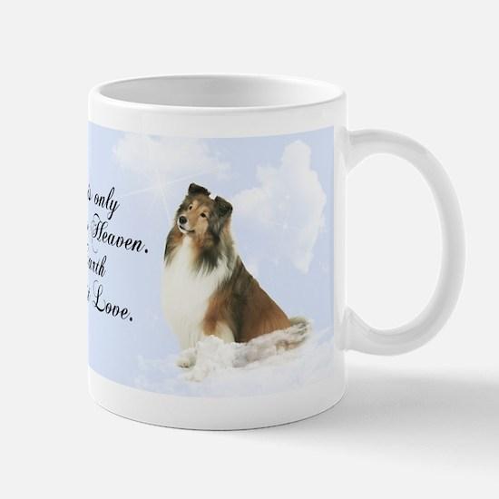 Heavenly Sheltie Mug