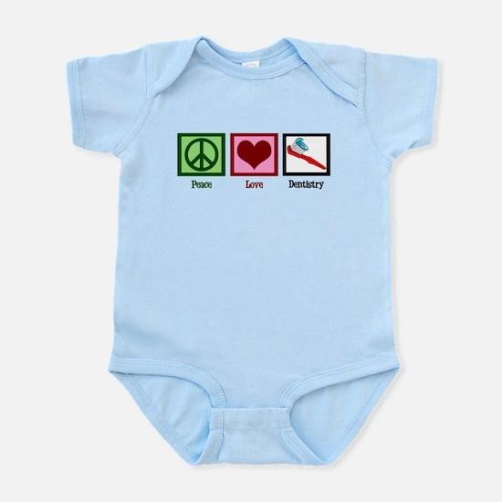 Peace Love Dentistry Infant Bodysuit
