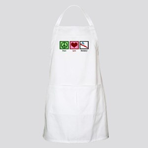 Peace Love Dentistry Apron