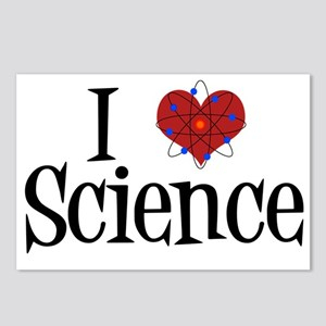 I Love Science Postcards (Package of 8)