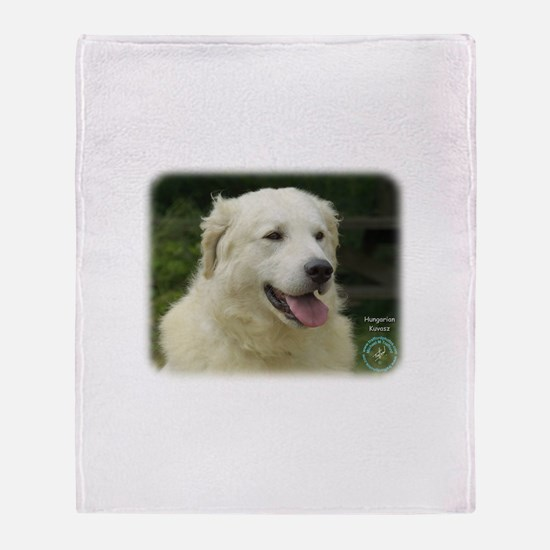 Kuvasz 8W02-17 Throw Blanket