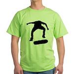 Skate On Green T-Shirt