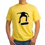 Skate On Yellow T-Shirt