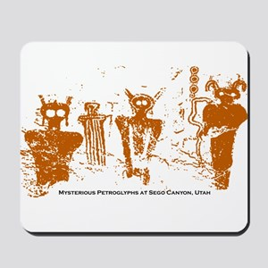 Sego Canyon Glyphs Mousepad
