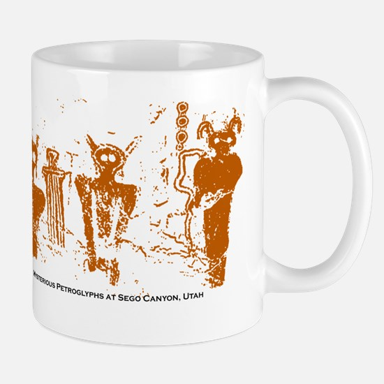 Sego Canyon Glyphs Mug