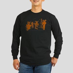 Sego Canyon Glyphs Long Sleeve Dark T-Shirt