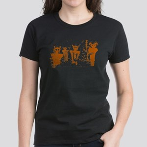 Sego Canyon Glyphs Women's Dark T-Shirt