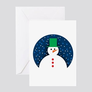 Holiday Cards- Snowman Greeting Card