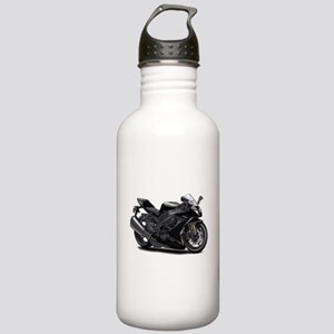 Ninja Black Bike Stainless Water Bottle 1.0L