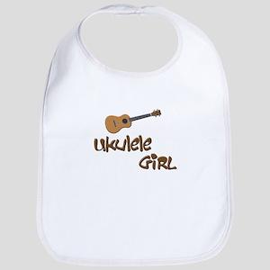girls ukulele Bib