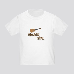 girls ukulele Toddler T-Shirt