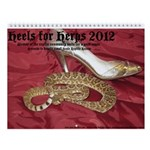 Heels for Herps Wall Calendar
