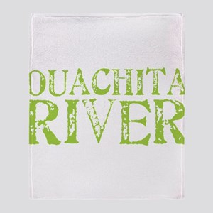 Ouachita River Throw Blanket