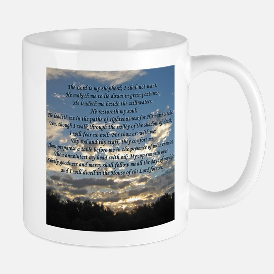 Beautiful Psalm 23 Mug