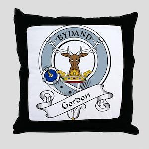 Gordon Clan Badge Throw Pillow