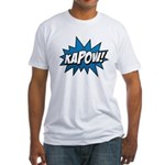 KAPOW! Fitted T-Shirt